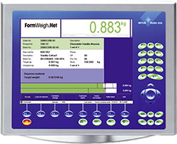 FormWeigh formulation software.