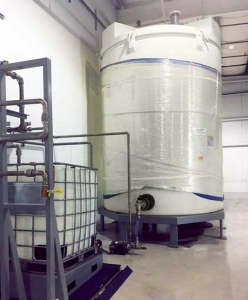 A Tank Filling and Dosing System