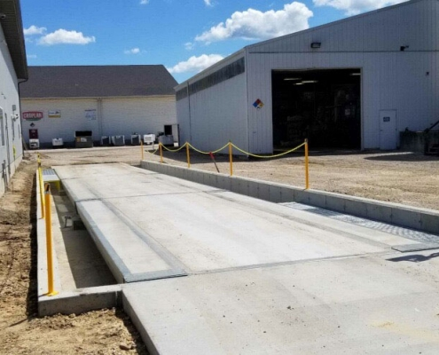 VTC 251 Concrete Deck Truck Scale