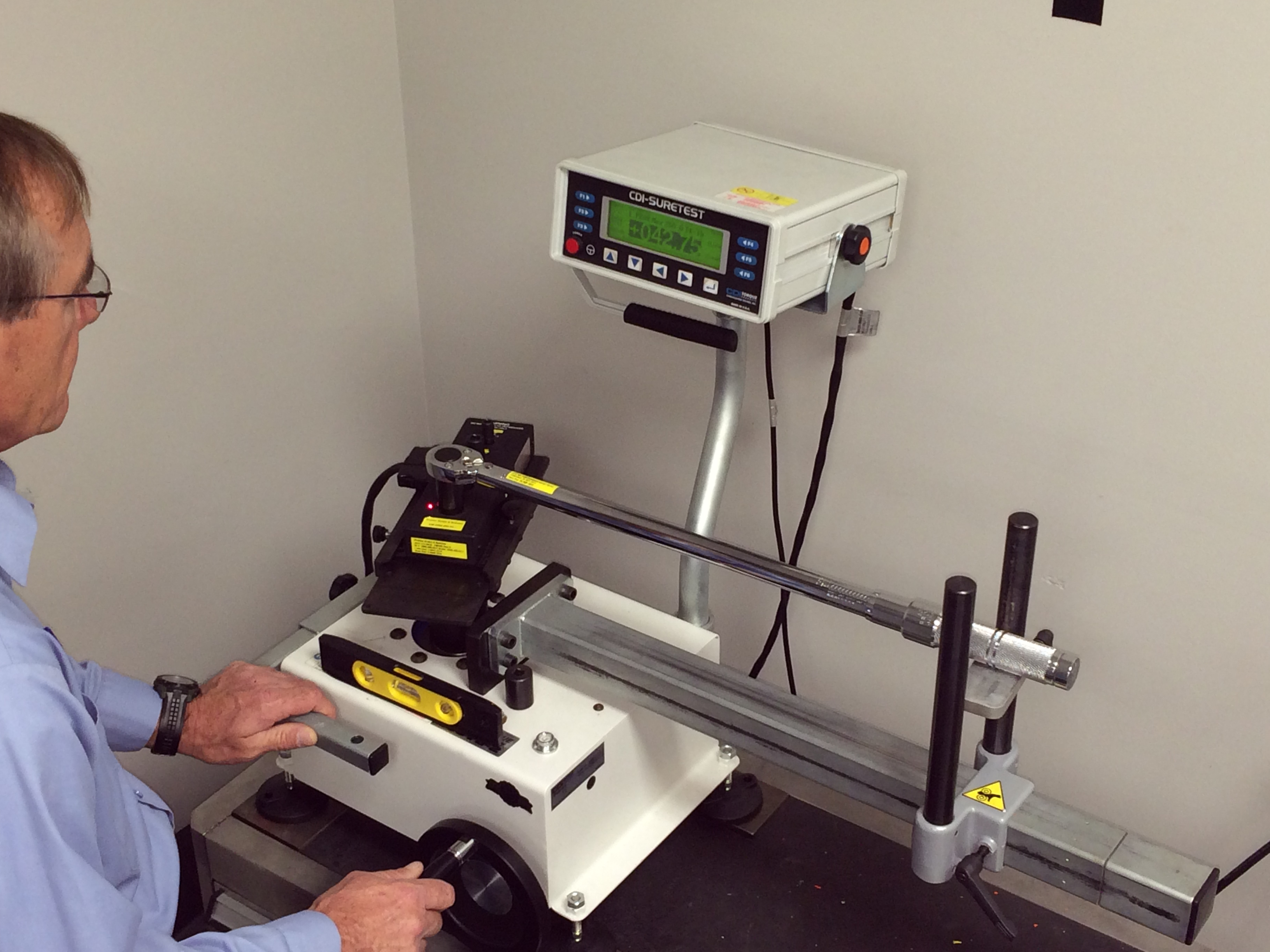 Premier Scales & Systems provides torque calibration services.