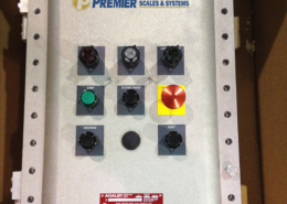 Batch and Fill PLC Control Panel